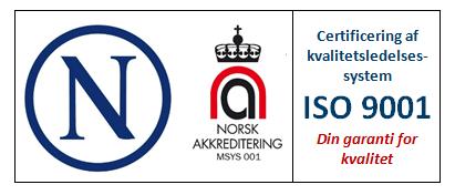 Certificeringslogo ISO-9001